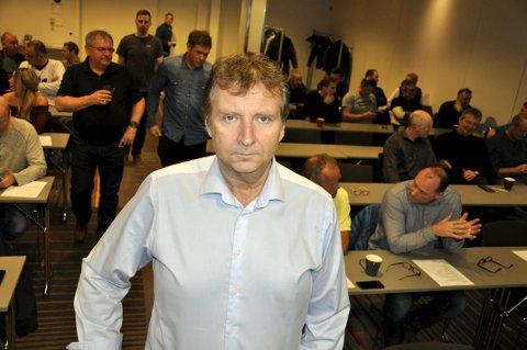 LEDER: Harald Hereide er leder for Odfjell-klubbene i Industri Energi. Han sier vinglingen til Arbeiderpartiet i striden om oljepolitikken kan føre til stor usikkerhet, ikke bare hos investorer og eiere, men også hos de fagorganiserte. FOTO: DAG BJØRNDAL