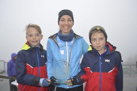 Sprek familie: Andreas Iversen Lilleskare, Anita Iversen Lilleskare og Jonas Iversen Lilleskare.
