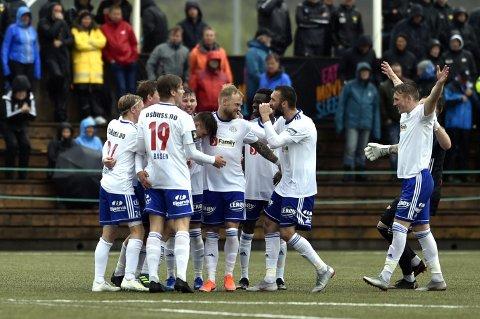 Lysekloster har vunnet ni kamper på rad, og er for alvor med i opprykkskampen i 3. divisjon.