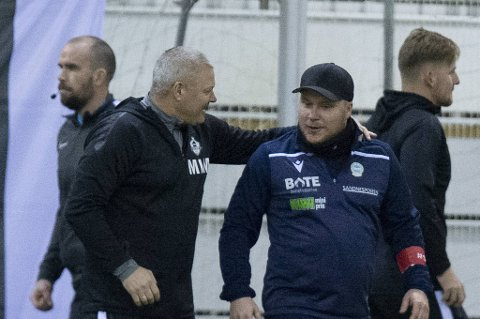 Mons Ivar Mjelde tok et oppgjør med trenerkollega Steffen Landro etter lørdagens kamp.