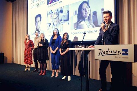 Her fra Gullparaplyen 2019. Bergen Journalistlags leder Jens Kihl mener det ville blitt en amputert fest da mange ikke vil eller kan komme på grunn av koronaviruset.