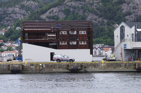 Landstrømanlegget på Skolten skal forsyne store fartøy med strøm. Det gjør Bergen til en enda mer attraktiv havn for cruiseskip, men reduserer samtidig miljøutslippene betraktelig.