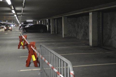 Siden november i fjor har plan C og D vært stengt i Klostergarasjen.