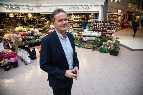 Rolf Tvedte, senterdirektør på Vestkanten.