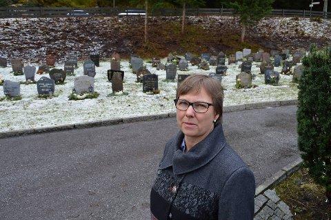 Inghild Hareide Hansen er gravplassjef i Bergen kirkelige fellesråd.