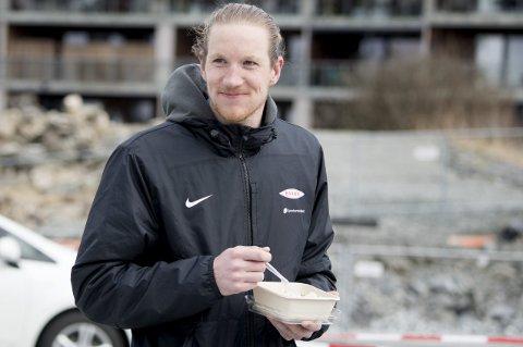Eirik Holmen Johansen (28) er sulten på spilletid i 2021. Til nå er han den Brann-keeperen som har spilt mest.