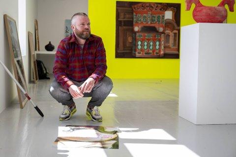 Kunster Lars Korff Lofthus stiller ut på Hordaland Kunstsenter.
