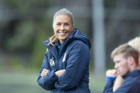 Sotra-trener Renate Blindheim var fornøyd med å reise fra Flekkerøy med det ene poenget i bagasjen.