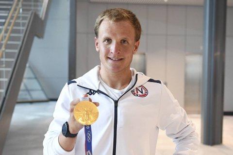 Kristian Blummenfelt er førstemann som har vunnet både VM og OL i samme sesong.