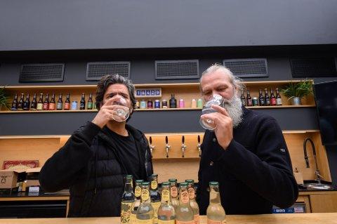 Fredrik Saroea og Stig Bareksten har slått sine hoder sammen i et nytt prosjekt og selskap.