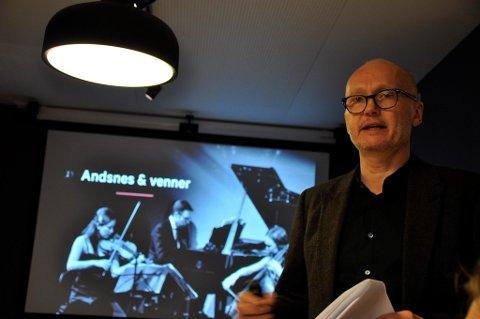 Anders Beyer, direktør for Festspillene i Bergen, har fått sparken.