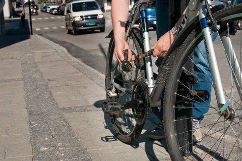Det stjeles hvert år mange sykler i Bodø og resten av Nordland.