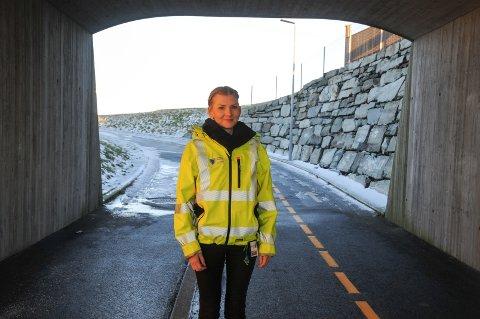 Ingeniør: Heidi Høyland Tjelta er ingeniør park- og grøntanlegg i Randaberg kommune.