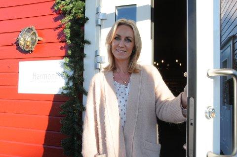 Utvikling: Linda Kallmyr er næringsdrivende i Vikevåg sentrum og har tanker om hva hun kunne tenkt seg der.