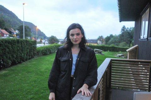 Søkte nye muligheter: Marina Frantsukh fra Ukrania forteller om hvorfor hun forlot hjemlandet sitt og hvordan hun kom til Rennesøy.