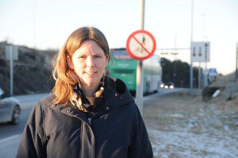 Utålmodig: Ann Elin Piel mener det haster med å få på plass en ordning med bergingsbil i Rennfast for å få ned tiden som tunnelene er stengt på grunn av ulike hendelser.