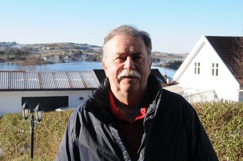Sjåføren: Martin Medhus gir seg snart i Rennesøy Trafikk og går over i pensjonistenes rekker.