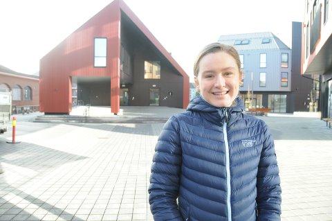 Mer for ungdom: Kommunen må legge til rette for at det blir attraktivt og kjekt for ungdom å bruke frivillighetens hus, sier leder i ungdomsrådet, Maria Førsvoll.