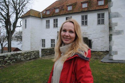 Klosterleder: Tove Galta er Museum Stavanger sin leder ved Utstein Kloster.