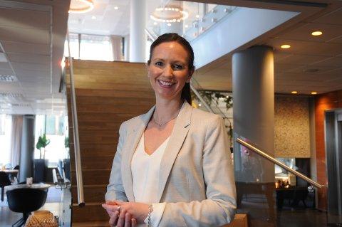 Hotelltopp: Elisabet Søyland fra Randaberg har lederjobb med ansvar for blant annet internkultur, utvikling og opplæring i Nordic Choice-kjeden.