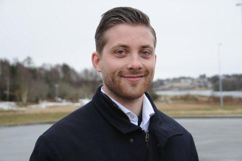 Politiker: Robert Raustein representerer FrP i Randaberg kommunestyre.