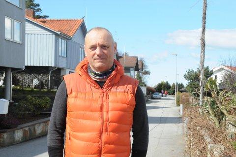 Daglig leder: Frank Harestad i Harestad Bygg AS.