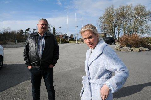 Reagerer: Bjørn Kahrs og Renate Kolnes i Randaberg Høyre vil ha seg frabedt Ingve Lerang (Venstre) sine påstander om hva som er deres politikk for den grønne landsbyen.