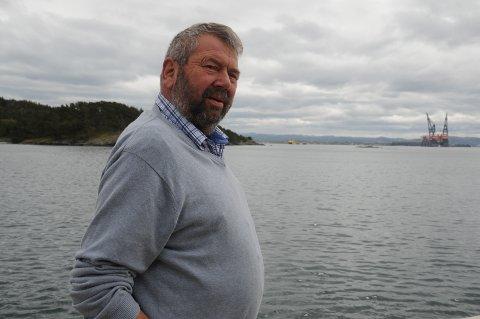 Fiskeri: Tor Bernhard Harestad engasjerer seg gjerne for fiskerinæringen, særlig nå som regjeringen vil forenkle regelverket for havbruk og oppdrett. Harestad er med i interimsstyret for et nytt felles fiskarlag, som går helt fra Egersund til og med Ryfylke.