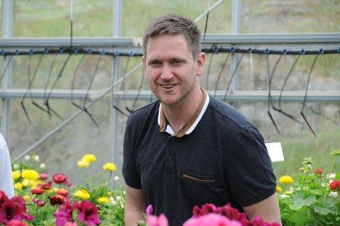 Ny optimisme: David Lilleheim begynner å se lyset i enden av tunnelen for sin nye reiselivsbedrift, og planlegger nå en blomstrende tur sammen med en gartner på Finnøy.