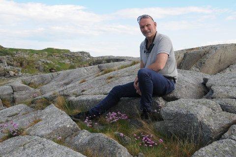 Rikholdig: I dette landskapet, som har en rik fauna, finner Svein Inge Svela ro samtidig som han har utrolig stor respekt for det som fortets opprinnelige funksjon, et festningsverk i innseilingen til Stavanger.
