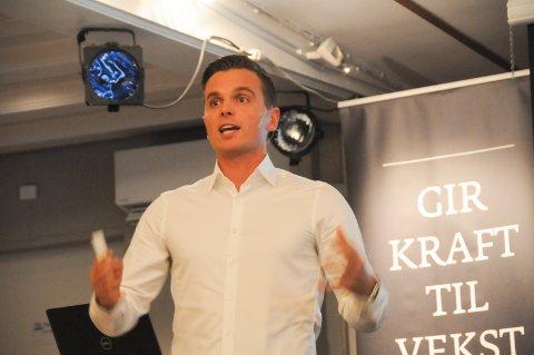 Vikingsjefen: Randabergmannen Eirik Bjørnø er toppleder i Viking FK, og han la an til et forrykende Tungenesmøtet på Randaberg.