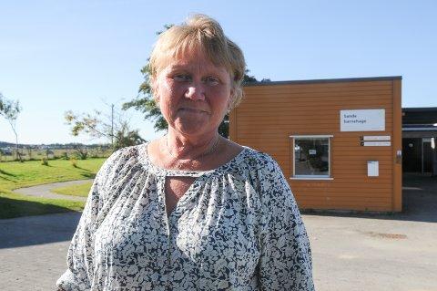 Styrer: Camilla Jenssen Stusvik i Sande barnehage.