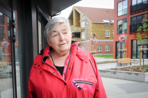 Tolv år: Anna Kristine Klæbo Jakobsen har hatt sin siste dag bak disken hos NMS Gjenbruk.