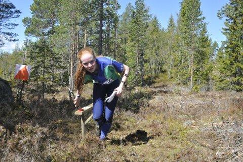 Thea Dyrkorn fra Eiker OL ble nummer to i D 15-16.
