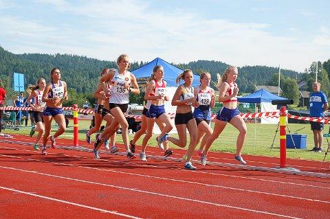 FULL FART: Det er ventet omlag 500 deltakere i junior-NM i friidrett som arrangeres i Prestfoss 23. til 25. august.