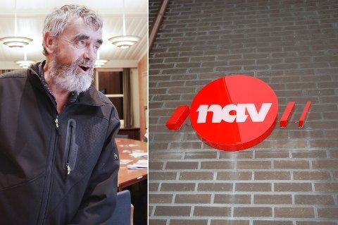 TYDELIG: Gustav Kalager var i formannskapsmøtet svært tydelig på at det ikke er aktuelt å inngå noe NAV-samarbeid om ikke hovedkontoret legges til Krødsherad.