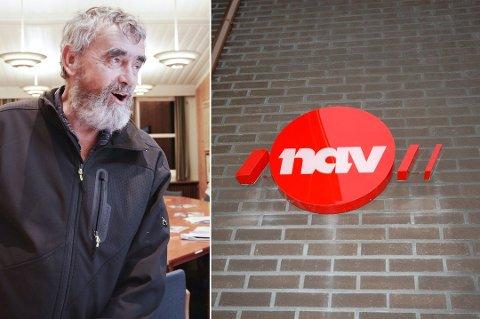 FIKK IKKE FLERTALL: Gustav Kalager (Ap) måtte i bite i gresset, da flertallet vraket hans forslag om at Krødsherad skulle takke nei til å bli en del av Nav Midt-Buskerud.