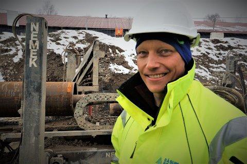 GODE UTSIKTER: Båsum Boring er i vekst, og daglig leder Dag Espen Båsum skal ansette seks nye boreoperatører i løpet av de neste månedene.