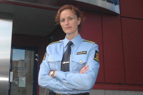 ORDKNAPP: Etterforskningsleder Lisbeth Edvardsen er ordknapp om etterforskningen av saken.