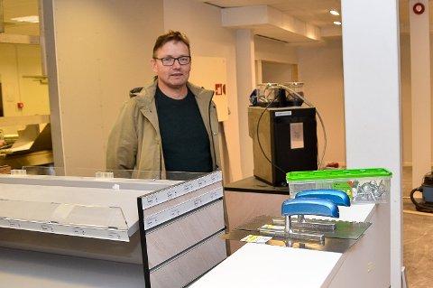 SPISESTED: Roy Kalrud blir daglig leder for nytt spisested i Vikersundgata.