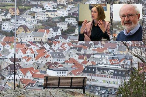 VIL SNU TRENDEN: Næringsminister Iselin Nybø (V) er blant gjestene når Gunnar Kvassheim og Eigersund Venstre inviterer til åpent møte om den negative befolkningsutviklingen i Eigersund og Dalane.