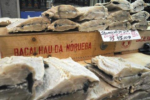 Verdens helseorganisasjon mener at saltet og tørket fisk, som klippfisk, er like farlig som tobakk. (Foto: ANB arkiv)