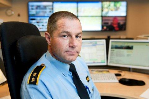 SVINDELFORSØK: Fra klokken 08 til 12 lørdag har operasjonsleder Truls Fjeld ved Søndre Buskerud politidistrikt har fått over 20 henvendelser fra folk i Drammens-området som er forsøkt svindlet.