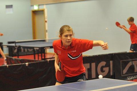 Bronse. Ilka Doval tok bronse i Nord-Europeisk mesterskap i bordtennis.