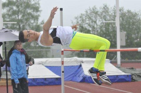 Gull: Oliver Engen (15) fra Krødsherad vant gull.