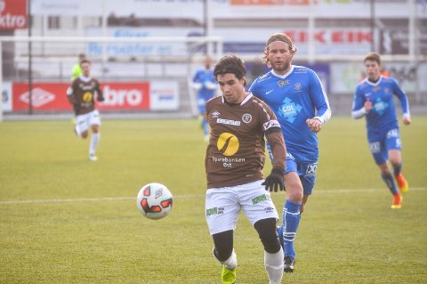 FORLATER MIF: Lars Mendonca Fuhre ser ut til å gå til svenske Östers IF. Her fra en treningskamp mot Asker i vinter.