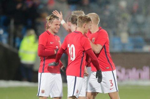 Iver Fossum ble matchvinner da Norge vant 2–1 i EM-kvalifiseringskampen hjemme mot Irland tirsdag.