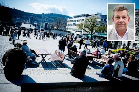 UENDELIGE MULIGHETER: «Vi kan skape arbeidsplasser innenfor kultur, opplevelser, friluftsliv, omsorg og livskvalitet. Mulighetene er uendelige», mener leder i Drammen Høyre, Fredrik A. Haaning.
