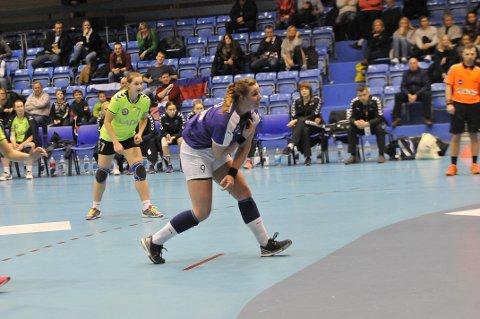 TOPPSCORER: Birna Berg Haraldsdottir ble toppscorer med seks mål. Mange av dem ble satt på straffekast.