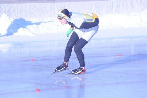 Tre medaljer: Sondre Kvalshaugen Glesne tok tre medaljer i Landsmesterskapet.